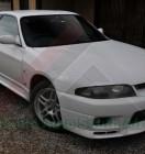 Nissan GTR BCNR33 White (1)