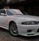 Nissan GTR BCNR33 White (2)