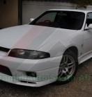 Nissan GTR BCNR33 White (5)