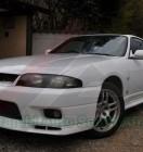 Nissan GTR BCNR33 White (6)