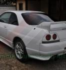 Nissan GTR BCNR33 White (7)